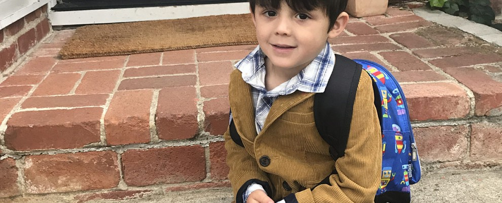 A Six-Year Flash: Insights and Reflections from the First Day of Kindergarten